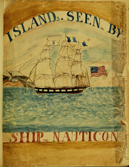 Decorative frontispiece, courtesy of the Nantucket Historical Association